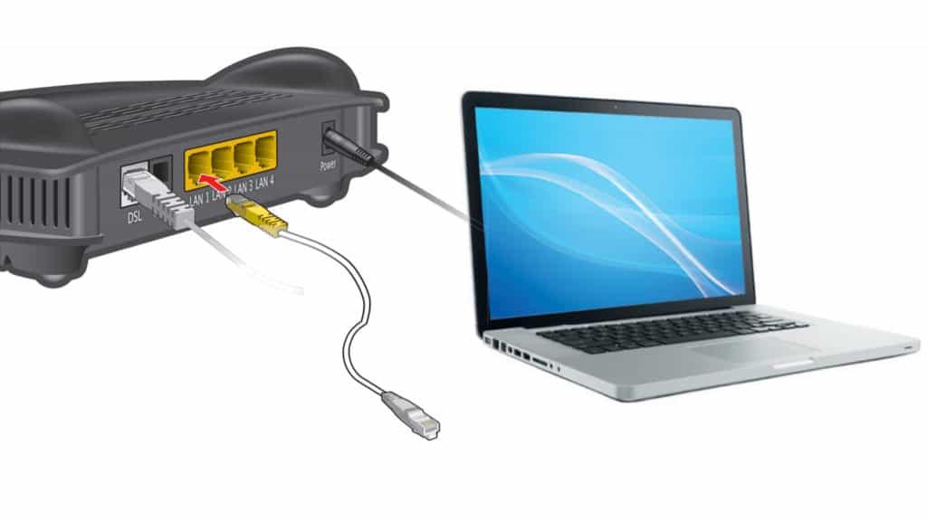 Geräte per LAN mit dem 1&1 Homeserver verbinden